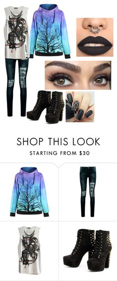 """Untitled #392"" by lindethiel on Polyvore featuring Boohoo and Balmain"