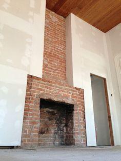 The Magnolia Mom - Joanna Gaines Farmhouse fireplace