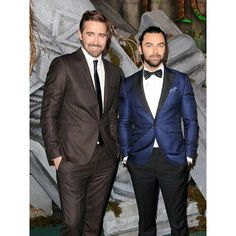 AidanTurner_Fan — Aidan and Lee Pace at the Hobbit : Battle Of The...