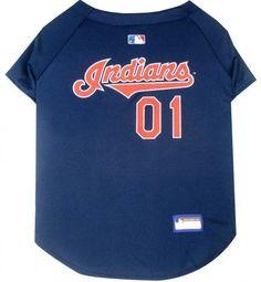 Cleveland Indians Dog Jersey
