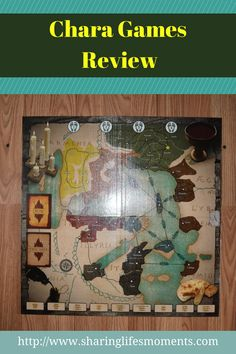 Making learning fun with Chara Games Review is a Christian strategy board game that covers the history of the early Christian Church.  via @SLM016