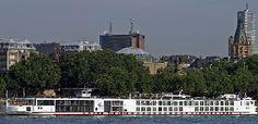 Viking River Cruises, river cruise ship Viking Njord. Track at sea live, in real time