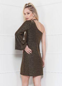 Vestido Ivana - Dourado