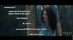 Teresa in THE MAZE RUNNER trailer