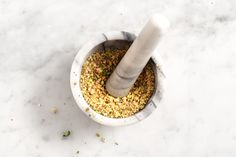 Dukkah recipe. (add EVOO and use to dip bread)