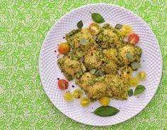 Vegan Magic Time: Butternut Squash Ravioli with Fresh Greek Oregano, Lemon Basil… Butternut Squash Ravioli, Lemon Basil, Cherry Tomatoes, Cauliflower, Vegan Recipes, Greek, Magic, Organic, Vegetables