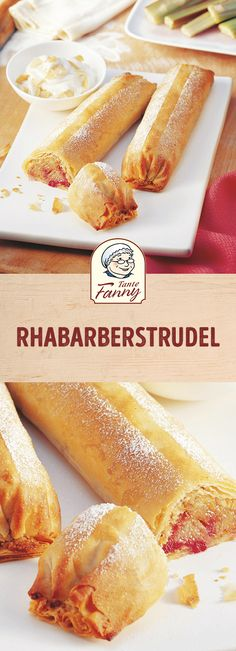 Quick & easy: crispy rhubarb strudel with strudel dough. In the rhubarb season there is nothing finer than a homemade rhubarb strudel. Simple & tasty The post rhubarb strudel appeared first on Win Dessert. Easy Smoothie Recipes, Easy Smoothies, Chocolate Cocktails, Chocolate Desserts, Cake Recipes, Snack Recipes, Dessert Recipes, Dessert Oreo, Homemade Frappuccino