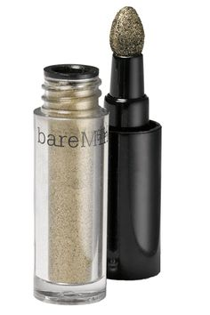 8 Eyeshadows To Make Hazel Eyes Even More Stunning #refinery29 Bare Escentuals BareMinerals High Shine Eyecolor in Patina, $12, available at BareEscentuals.