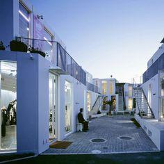 outdoor shopping mall, Sarugaku,