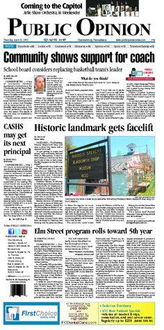 Front page April 26