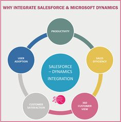 There is so much to gain from a Salesforce – Microsoft Dynamics integration – or any CRM – ERP integration for that matter. In my experience, once they have it done, customers would never go back to a world where their systems are not integrated. Business Infographics, Microsoft Dynamics, Integrity, Gain, Data Integrity