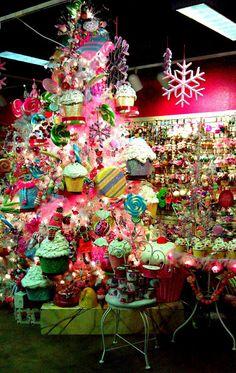 Cupcake Christmas this is at wights nursurey in lynwood Washington