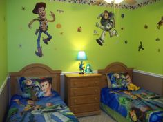TOY STORY BEDROOM  wall stickers - I'm ordering these off of Amazon. Justin needs them!