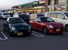 Copen, Old and New.