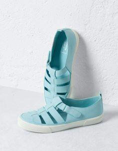 BSK strappy sneakers - All - Bershka Portugal