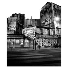 tubes paysages 4 ❤ liked on Polyvore featuring backgrounds, buildings and black and white