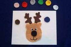 Rudolph Flannel Board Story