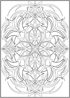 abstract coloring pages | coloring pages for adults abstract is an appropriate image to learn ...
