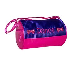 3701 Bows Duffel Purple Purple Satin, Pink, Dance Bags, Little Ballerina, Gym Bag, Shoulder Strap, Bows, Arches, Bowties