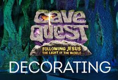 It's never too early to start thinking about Cave Quest VBS 2016. Here are some new ideas and easy ways to transform your church into a colossal cave, without breaking the bank!