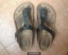 How To Clean Birkenstock Footbeds