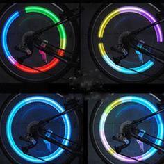 ของดี  YBC 1 คู่ ล้อรถจักรยานการขี่จักรยานเรืองแสงไฟ ledไฟพูดเตือนด้วยแสงสี  ราคาเพียง  96 บาท  เท่านั้น คุณสมบัติ มีดังนี้ Made of high grade material. Bright LED light for decoration. Used to Bike/Car/Motorcycle Tire Air Valve SealingCap. Bring more colors to your car/bike/motocyclewheels. The light will be ON when the vehicle runs,and will beoff when the vehicle stops. The item has auto battery saving,when you stop riding,itwill stop flash. Material:Lightweight alloy