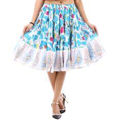50c0a9d7d5 VASTRA VINOD PRINTED WOMEN'S A-LINE SKIRT Designer Kurtis Online, Jodhpur,  Indian Dresses