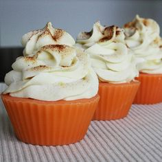 Marshmallow Cupcake Soap