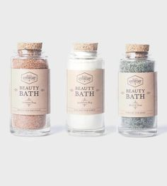 Bath Soak Trio | Soak up and wind down with this trio of bath soaks, made with ... | Bath & Body