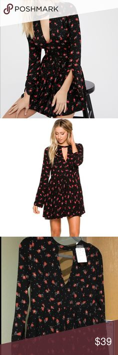 Free people Tegan dress NWT Free people Tegan dress. On clearance price firm Free People Dresses