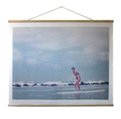 WALLHANGING: SURFER GIRL | THREE POTATO FOUR