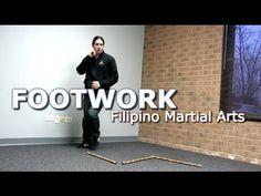Footwork Drill: Kali / Eskrima / Arnis - DO THIS!
