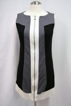#Nine West color block dress from #Goodwill on Thrift and Shout blog. see more at thriftandshout.blogspot.com