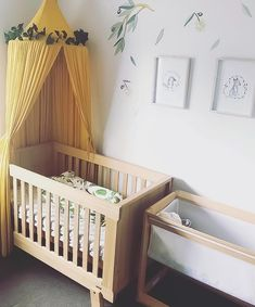 """Boori Australia on Instagram: """"Our award-winning Lucia Convertible Plus™️ Cot Bed is ideal for bringing a Scandi-chic touch to any nursery. 🌿 We love this serene look…"""" Nursery Inspiration, Nursery Ideas, Scandi Chic, Dinosaur Nursery, Cot Bedding, Cribs, Serenity, Convertible, Bring It On"""