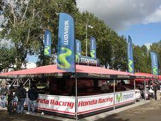 Una vuelta en el Rally Mobil con el Movistar Honda Racing Team ... En el Shakedown que se corrió el viernes 13 de Abril