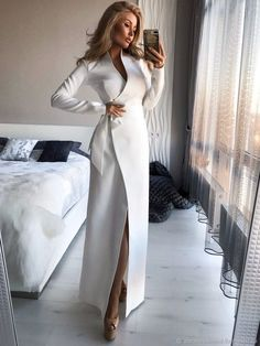 Elegant Outfit, Classy Dress, Classy Outfits, Elegant Dresses, Chic Outfits, Dress Outfits, Bow Dresses, Suit Fashion, Women's Fashion Dresses