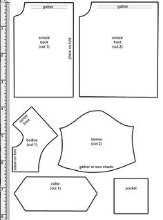 Smock Pattern by Millie, via Flickr
