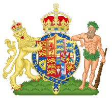 Coat of arms of Queen Alexandra (Queen/Dowager Queen from 1901-1925), consort of Edward VII