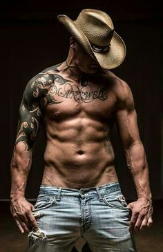 Sexy Tattoo Cowboy?......ummm,yes please!!!!