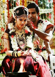 Tanishq Tamil (South Indian) Bride.