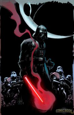 Star Wars - Darth Vader #1 variant cover by Whilce Portacio