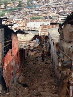 Kibera slums in Nairobi, one of the most eye opening places I have ever been. The over powering smell has never left me.