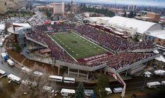 Washington-Grizzly Stadium; Missoula, Montana; The University of Montana.