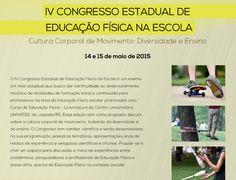 Blog do Sérgio Moura: IV Congresso Estadual de Educação Física na Escola...
