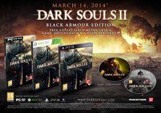 Dark Souls 2 Black Armor Edition