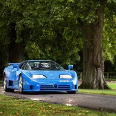 Bugatti EB110 SS I still think this is one of the ugliest super/hyper cards ever made, and yet I still had a poster of it in my room.