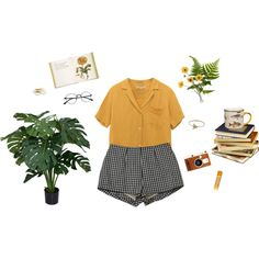 yellow by treeriam on Polyvore