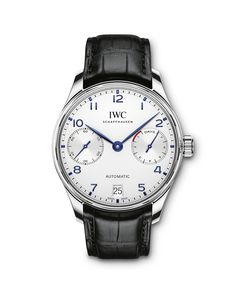 The Portugieser is one of the oldest and best-known watches from IWC. Discover the iconic design of IWC's Portugieser watches and find your timepiece here. Iwc Watches, Army Watches, Cool Watches, Citizen Watches, Dream Watches, Iwc Chronograph, Big Ben, Rolex, Men's Watches
