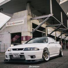 Nissan Skyline Gtr R33, Nissan R33, R33 Gtr, Tuner Cars, Jdm Cars, Japanese Cars, Dream Cars, Import Cars, Godzilla