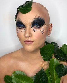 """Fanica Ursulean on Instagram: """"Bald character today @vanityxmakeup @nicole_cardiff #vanityx #vanitymakeup #vanityxitec2019 #wearevanityx #photoready #mothernature…"""" Bald Cap, Cardiff, Halloween Face Makeup, Artist, Character, Instagram, Artists, Lettering"""